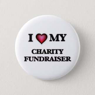 I love my Charity Fundraiser Button