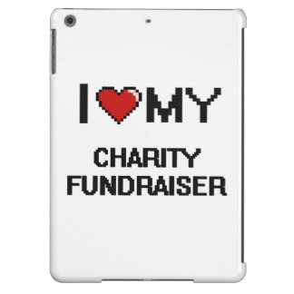 I love my Charity Fundraiser Cover For iPad Air