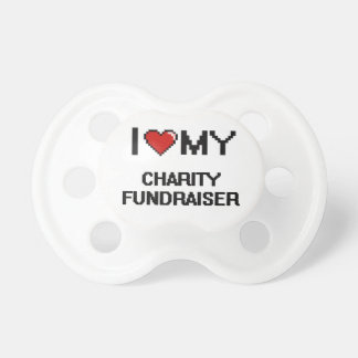 I love my Charity Fundraiser BooginHead Pacifier