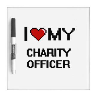 I love my Charity Officer Dry-Erase Boards