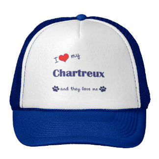 I Love My Chartreux (Multiple Cats) Trucker Hat