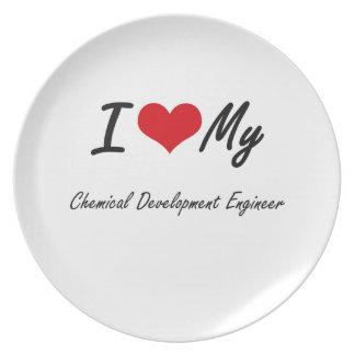 I love my Chemical Development Engineer Plate