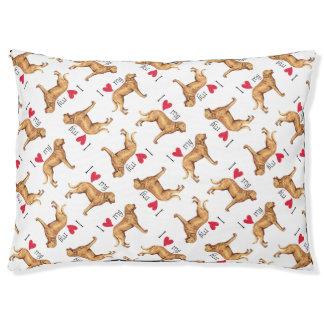 I Love my Chesapeake Bay Retriever Dog Bed