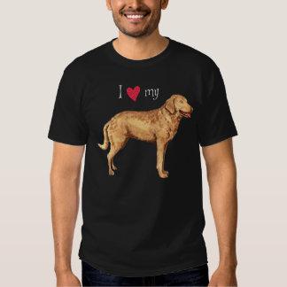 I Love my Chesapeake Bay Retriever Shirt