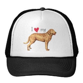 I Love my Chesapeake Bay Retriever Trucker Hat