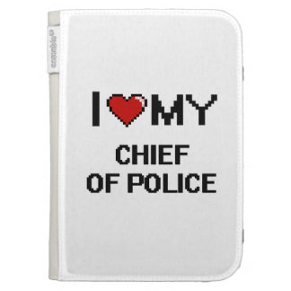 I love my Chief Of Police Kindle 3 Covers