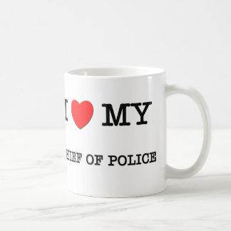 I Love My CHIEF OF POLICE Coffee Mug