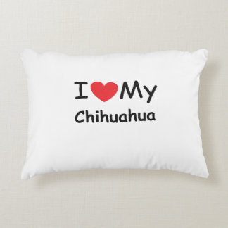 I love my Chihuahua dog Accent Pillow
