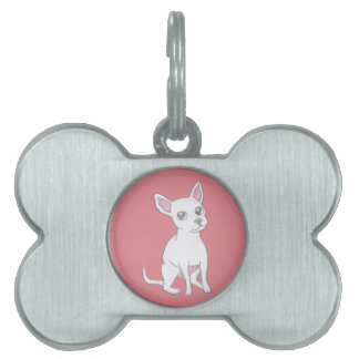 I Love my Chihuahua Pet ID Tag