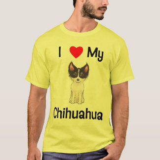 I Love My Chihuahua (picture) T-Shirt