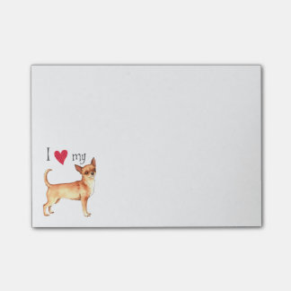 I Love my Chihuahua Post-it® Notes