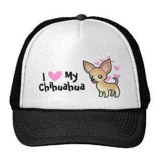 I Love My Chihuahua (smooth coat) Trucker Hat