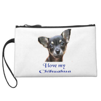 I love my Chihuahua Wristlet Wallet
