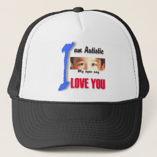 I love my child with autism - unique cap design se