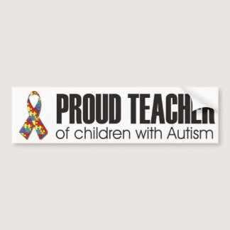 I love my child with autism - unique sticker desig