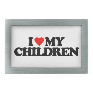 I LOVE MY CHILDREN BELT BUCKLE