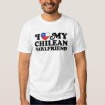 I Love My Chilean Girlfriend Shirt
