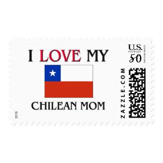 I Love My Chilean Mom Postage