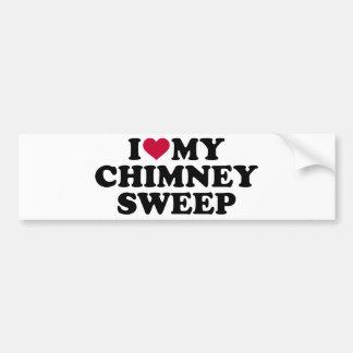 I love my chimney sweep bumper sticker