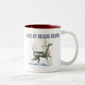 I Love My Chinese Crested Coffee Mug