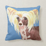I Love my Chinese Crested Pillows