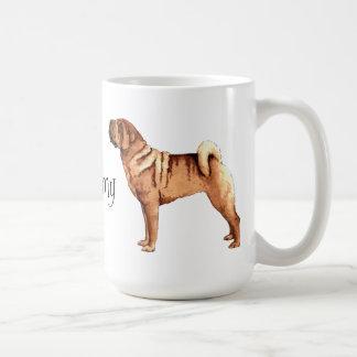 I Love my Chinese Shar-Pei Coffee Mug