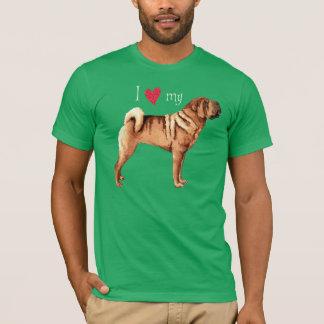I Love my Chinese Shar-Pei T-Shirt
