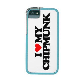 I LOVE MY CHIPMUNK iPhone 5 CASE