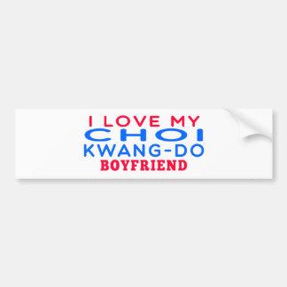 I Love My Choi Kwang-Do Boyfriend Car Bumper Sticker