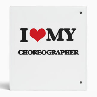 I love my Choreographer Vinyl Binders