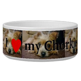 I love my Chorkie Bowl