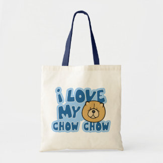 I Love My Chow Chow Bag