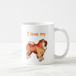 I Love My Chow Chow  Coffee Mug