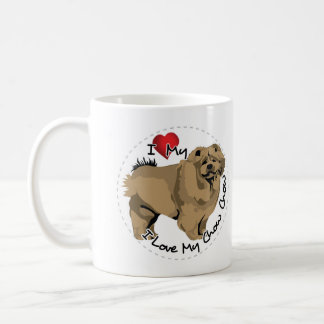 I Love My Chow Chow Dog Coffee Mug