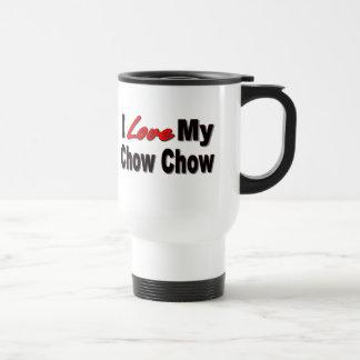 I Love My Chow Chow Dog Travel Mug Stainless Steel Travel Mug