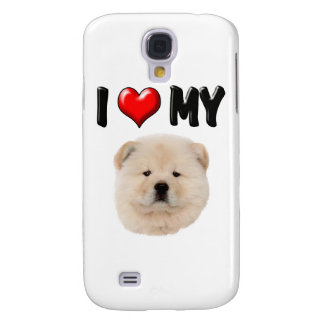 I Love My Chow Chow Galaxy S4 Case