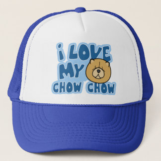 I Love My Chow Chow Hat