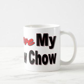 I Love My Chow Chow Mug Basic White Mug