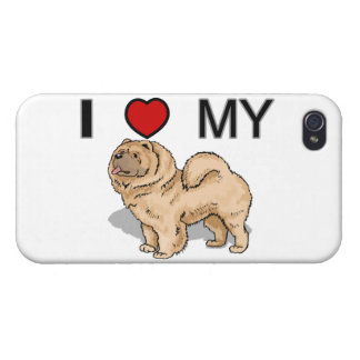 I Love My Chow iPhone 4/4S Case