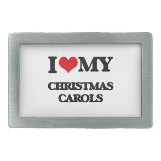 I Love My CHRISTMAS CAROLS Belt Buckles