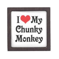 I Love My Chunky Monkey Gift Box