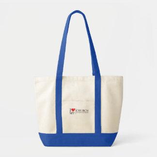 I Love My Church Impulse Tote Bag