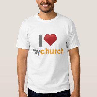I Love My Church Tee Shirt