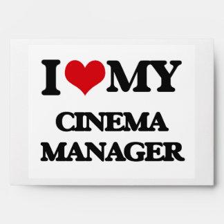 I love my Cinema Manager Envelopes