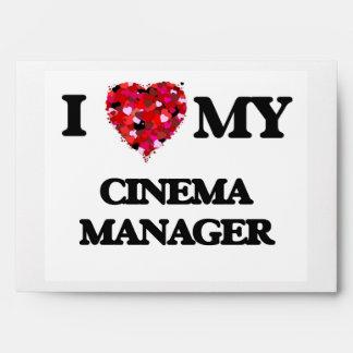 I love my Cinema Manager Envelope