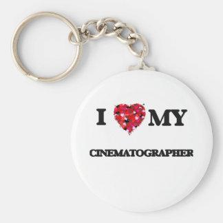 I love my Cinematographer Basic Round Button Keychain