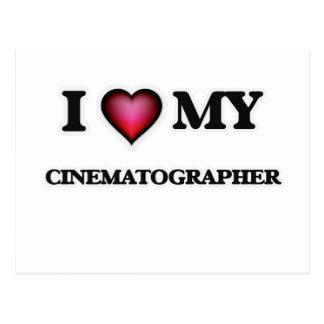 I love my Cinematographer Postcard