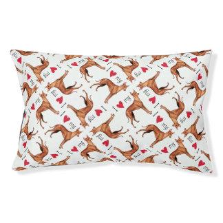 I Love my Cirneco dell'Etna Dog Bed