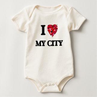 I love My City Baby Bodysuits