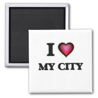 I love My City Magnet